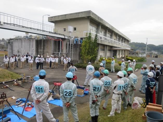 H27配管技能検定会 (5)