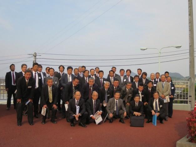 四国四市管工事組合連絡協議会 防災協定再締結 073